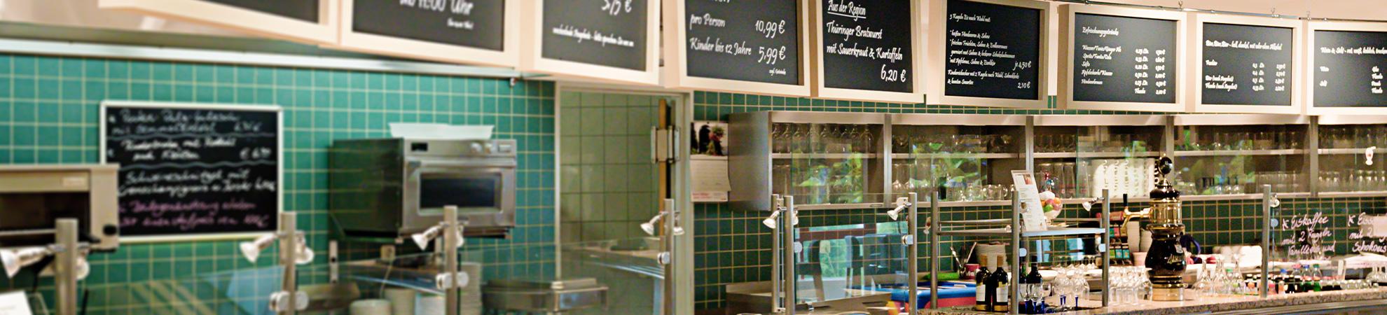 Möbel Schröter Ansicht Theke Restaurant