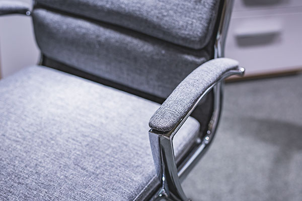 Möbel Schröter Schreibtischstuhl grau