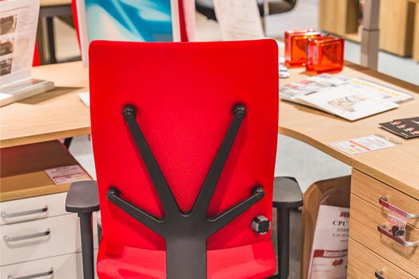 Möbel Schröter Schreibtischstuhl rot